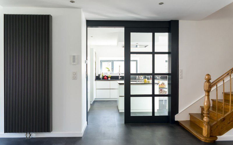 Hall entrée maison - Aménagement intérieur - La Hénonnaise (22)