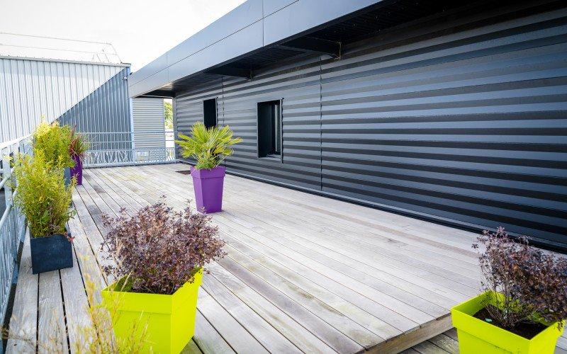 Terrasse bois - Aménagement extérieur - La Hénonnaise (22)