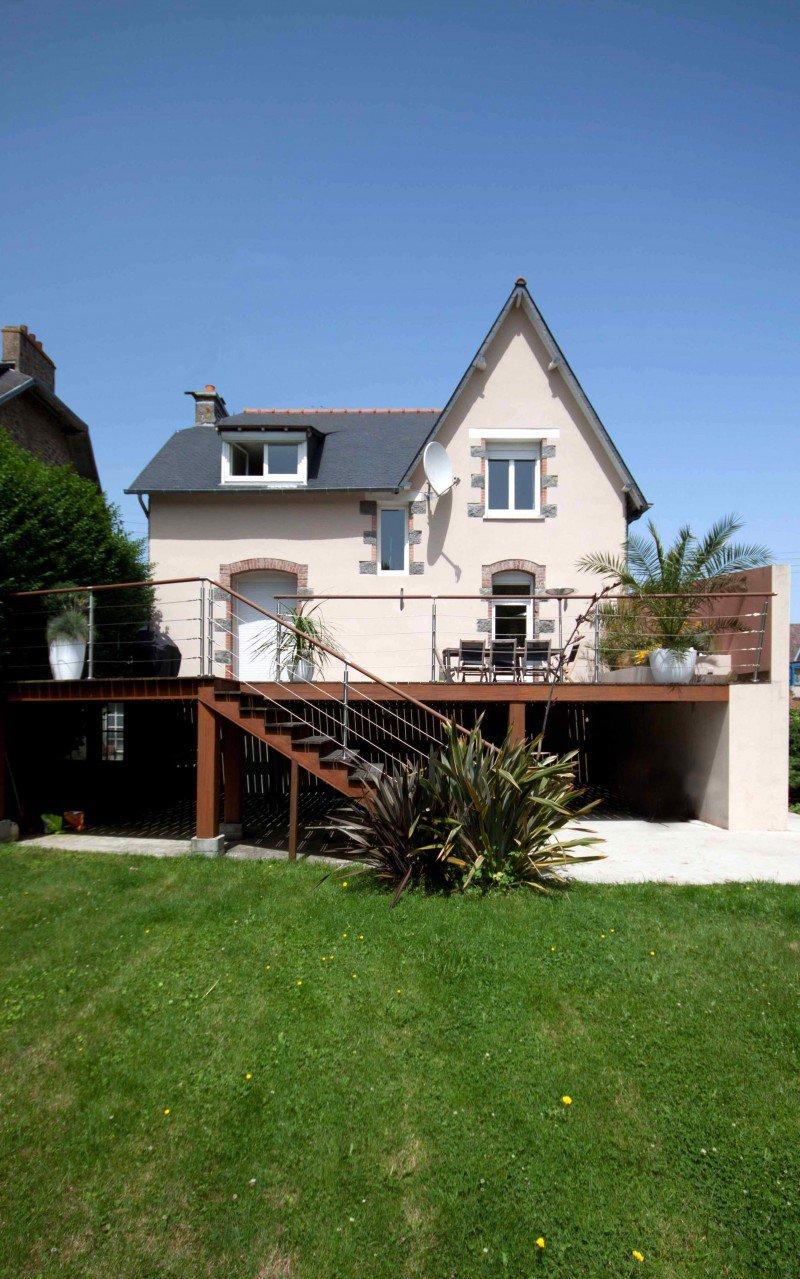 Amenagement Exterieur Terrasse Maison terrasse maison individuelle - aménagement extérieur - la